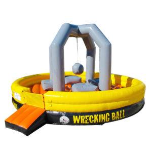 Wrecking Ball Bounce House