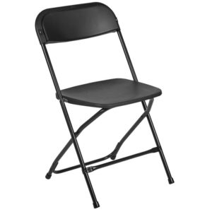 Black Samsonite Folding Chair