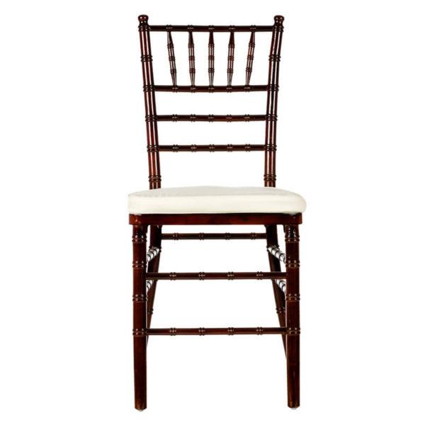 Dark Wood Chivari Chair