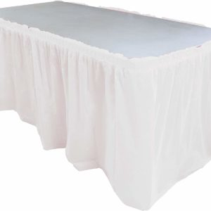 Plastic Table Skirting