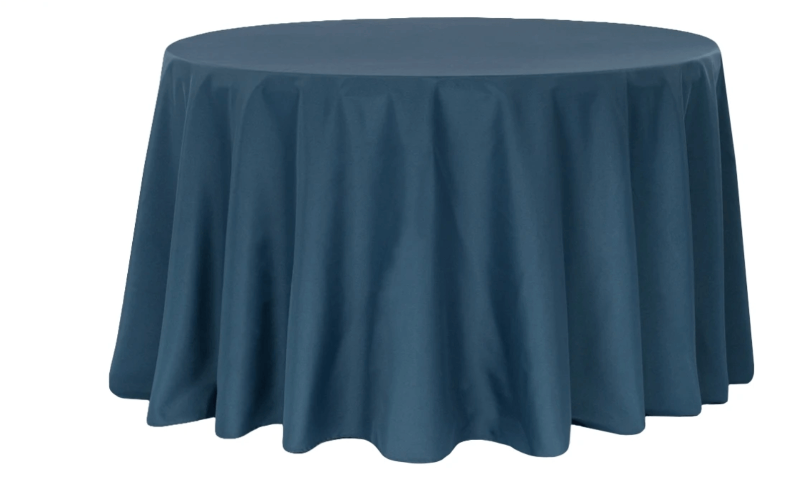 Round Solid Color Linens