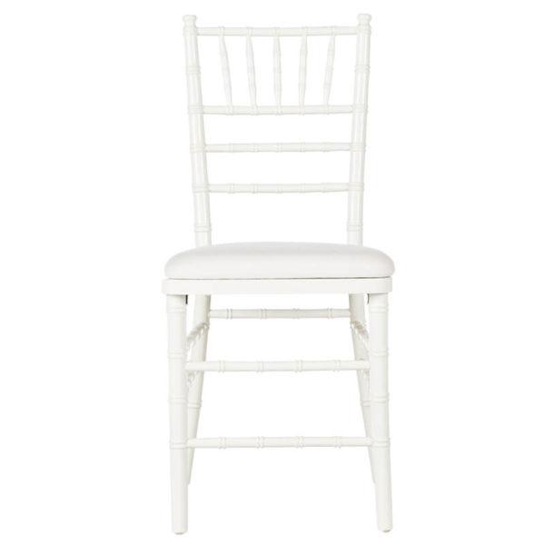 White Chivary Chair